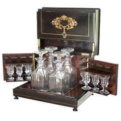 """""""Coffre a Liqueur"""" Napoleon III Port Box"""
