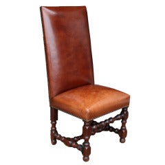 """""""Chateau Les Loups"""" French Chair, circa 19th Century"""