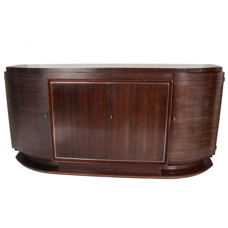 vintage art deco buffet for sale at 1stdibs. Black Bedroom Furniture Sets. Home Design Ideas