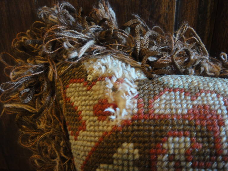 19th Century Tapestry Pillows For Sale 5