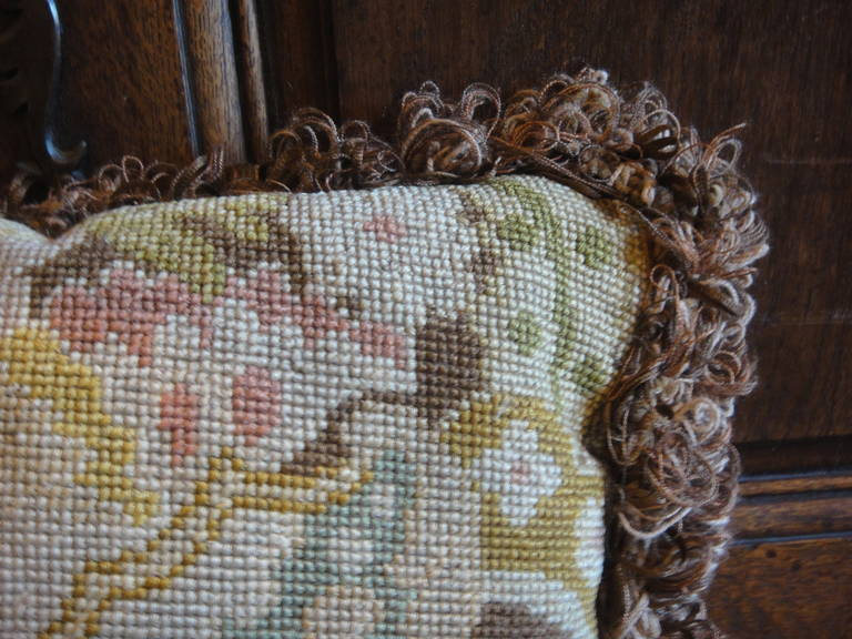 19th Century Tapestry Pillows For Sale 6