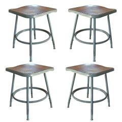 Royal Industrial Metal Stool Set