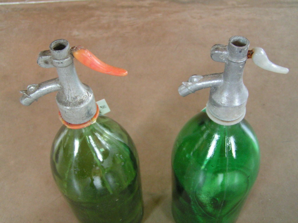 Vintage American Soda Bottles In Good Condition In Napa, CA