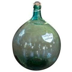 French Demijohn Glass Bottles