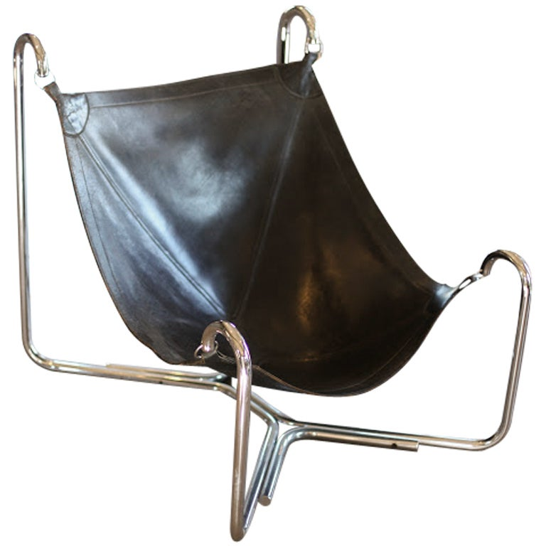 Baffo Groupo Leather Chair