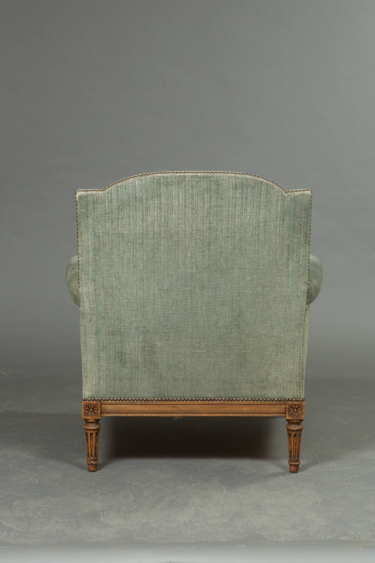 Pair of Louis XVI Style Bergeres 4