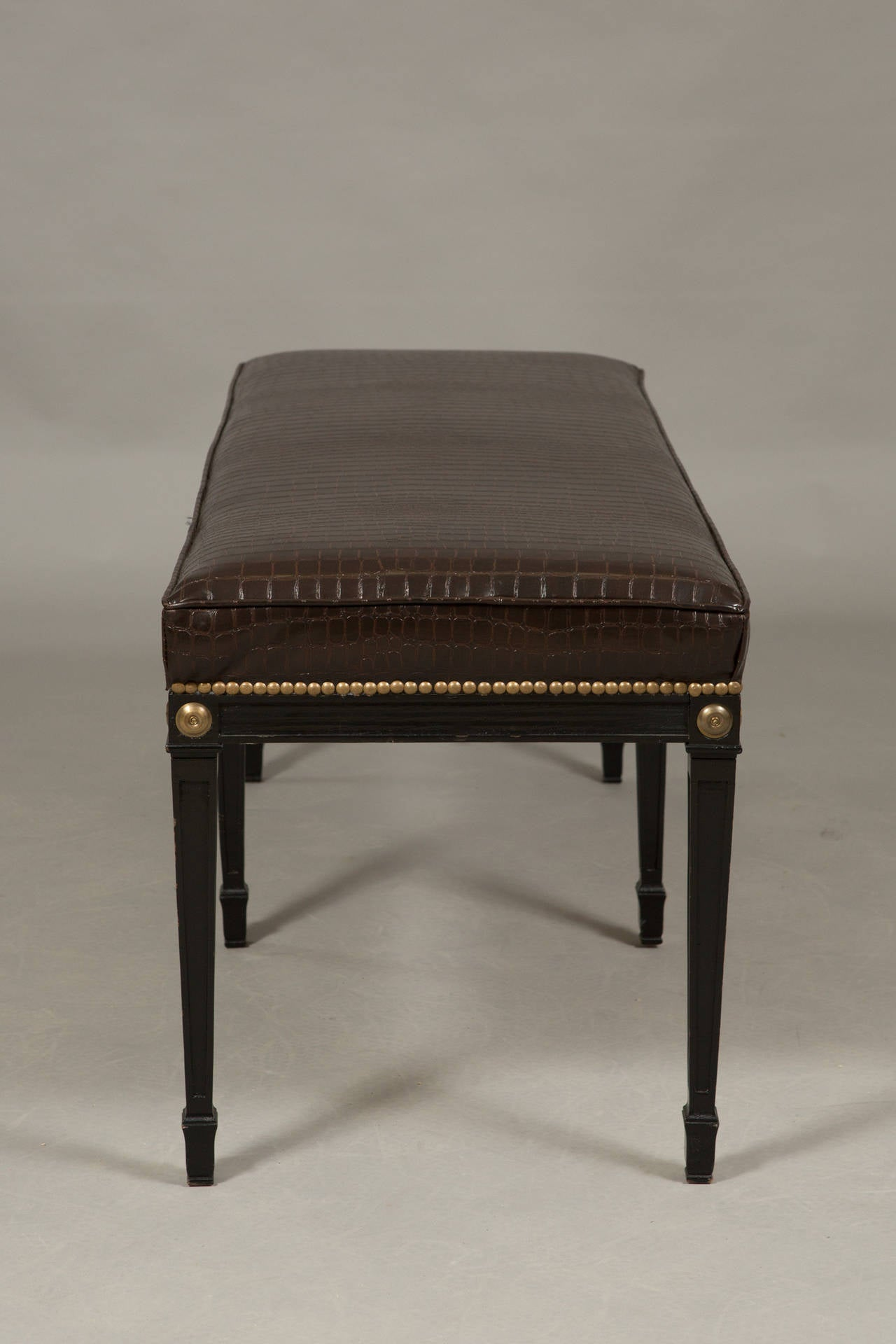 Pair of Louis XVI Style Benches 4