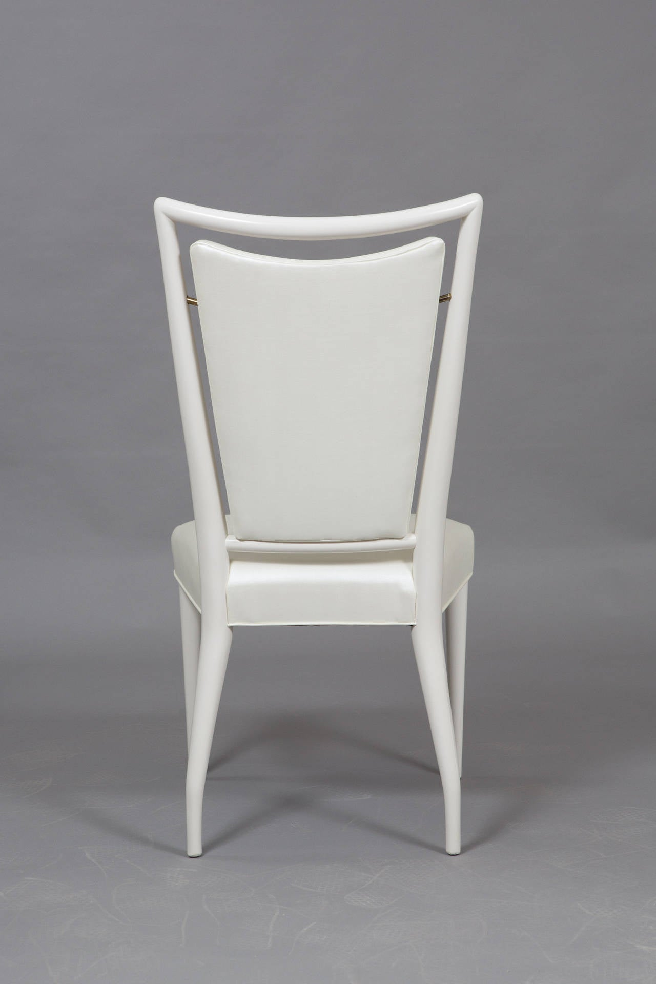 Set of J. Stuart Clingman Dining Chairs for Widdicomb In Excellent Condition For Sale In New York, NY