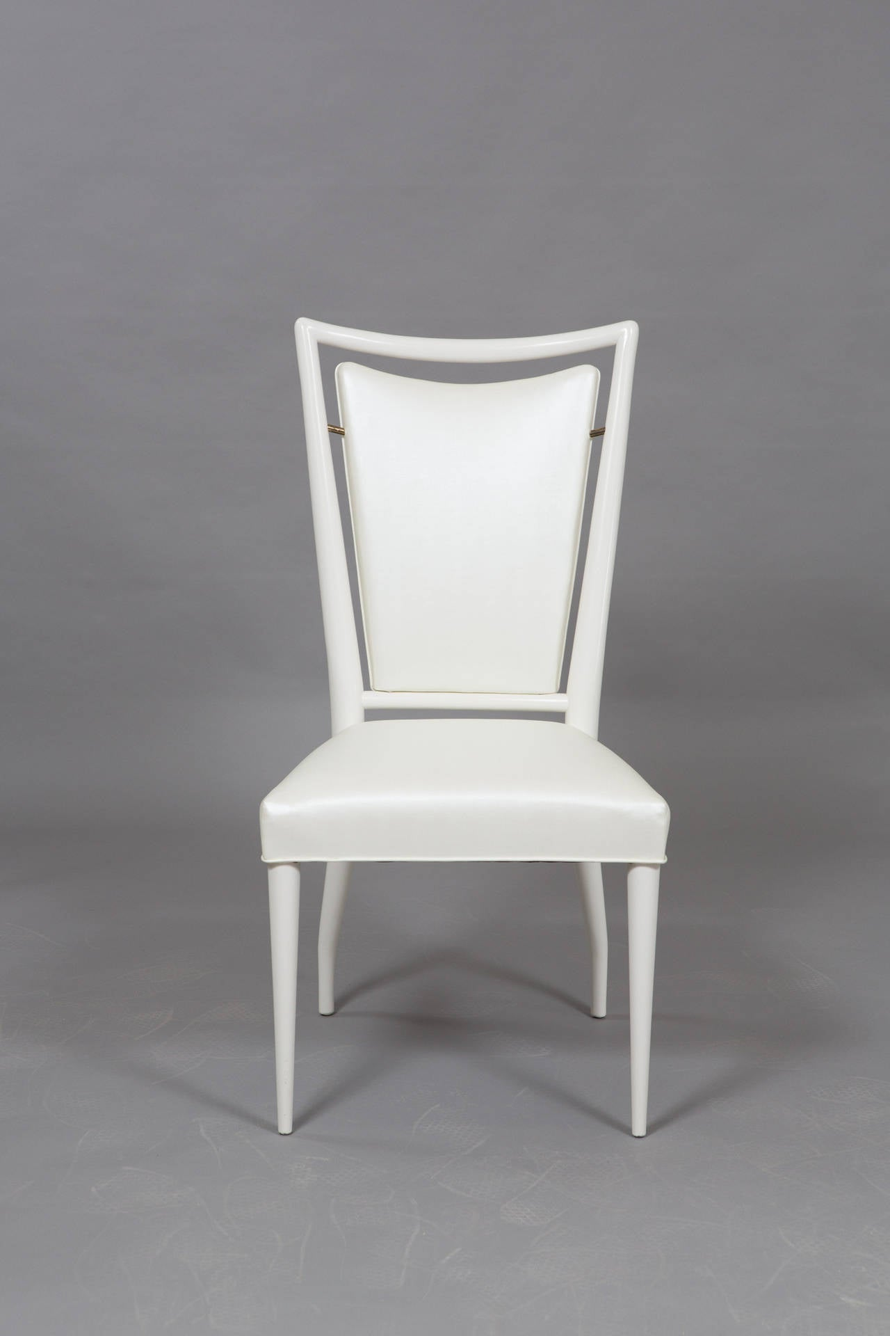 American Set of J. Stuart Clingman Dining Chairs for Widdicomb For Sale