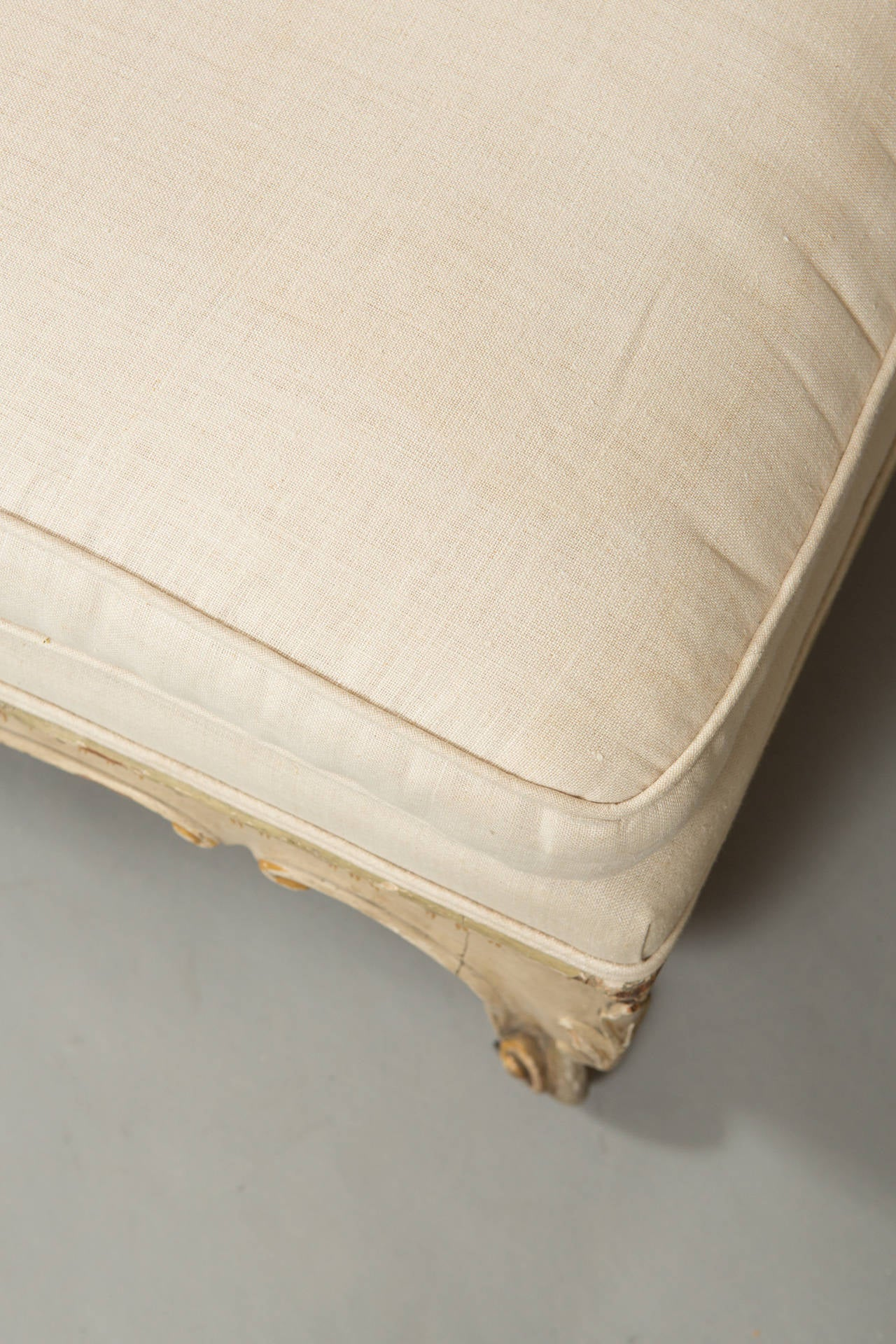 19th Century Pair of Louis XV Banquettes For Sale