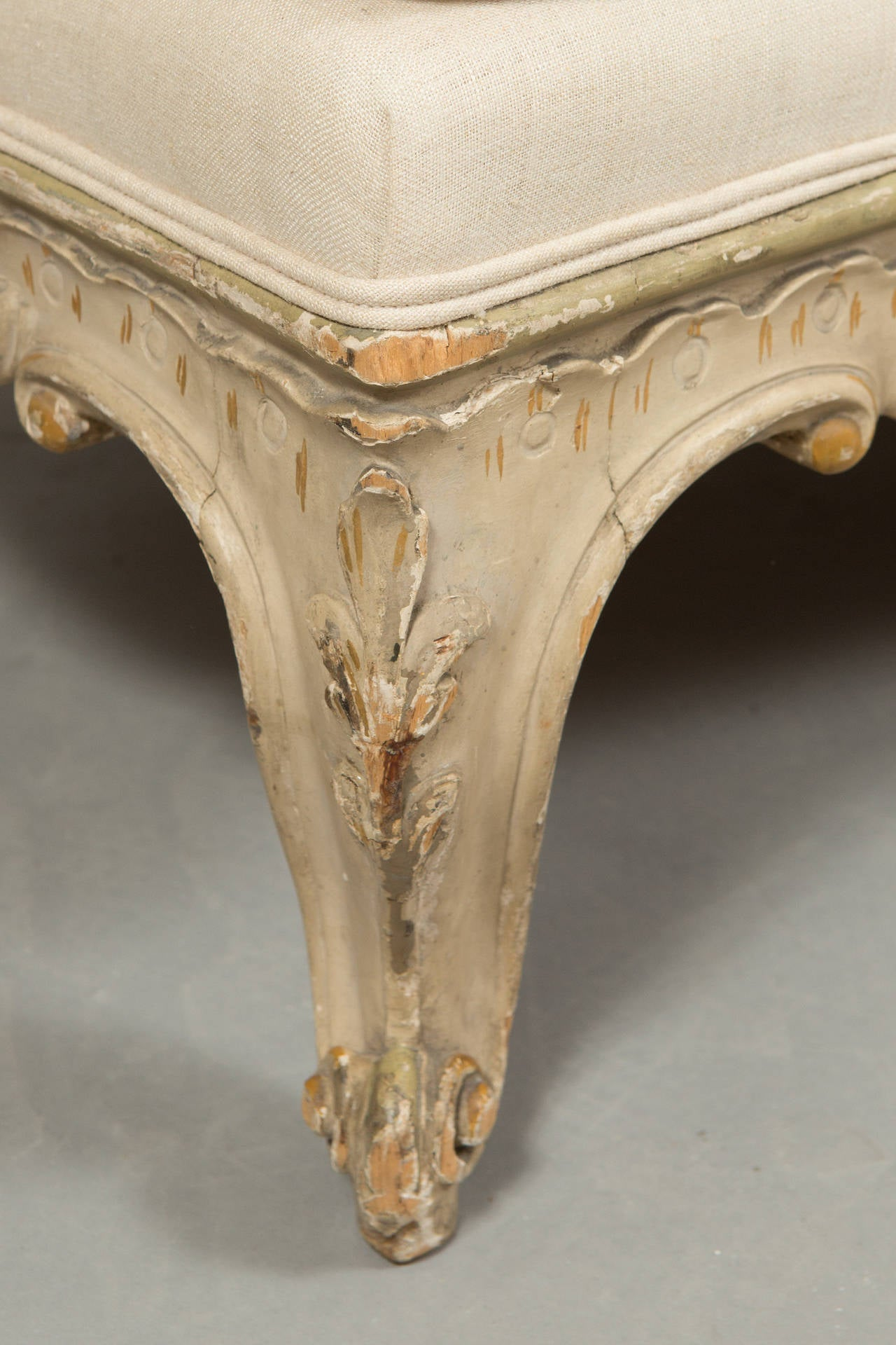 Pair of Louis XV Banquettes For Sale 1