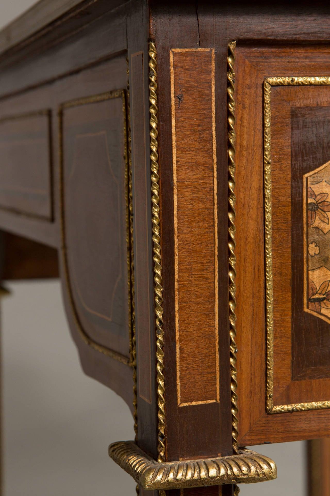 Louis XVI Style Bureau Plat 9