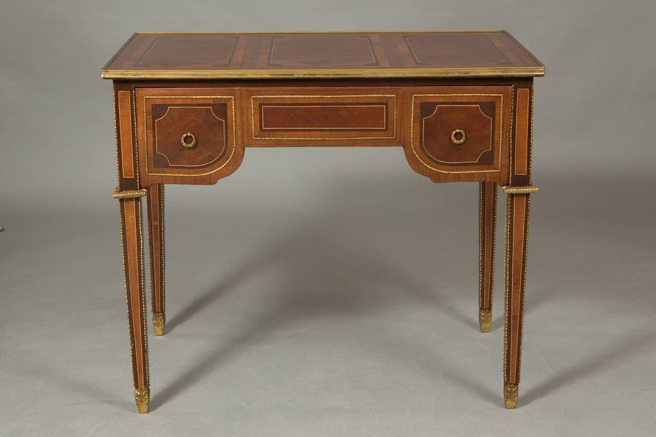 Louis XVI Style Bureau Plat 2