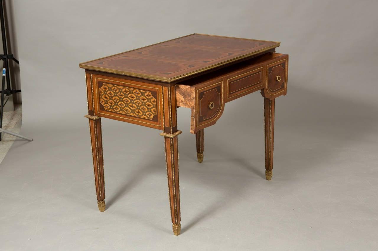Louis XVI Style Bureau Plat 5