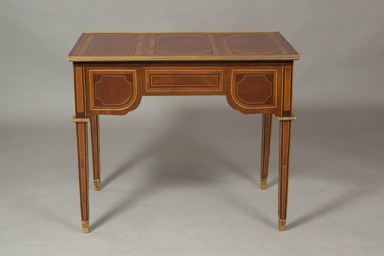 Louis XVI Style Bureau Plat 4