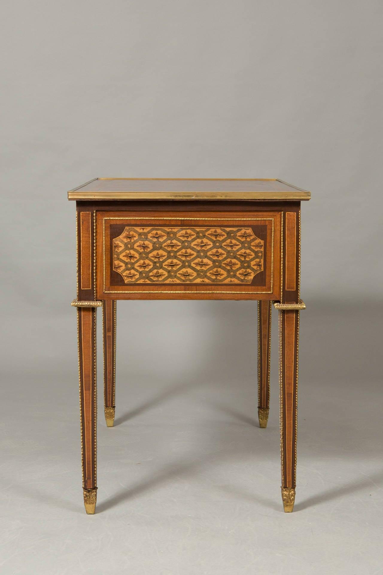 Louis XVI Style Bureau Plat 3