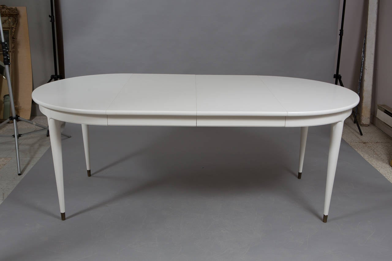 Round Widdicomb Dining Table With Two Leaves At 1stdibs