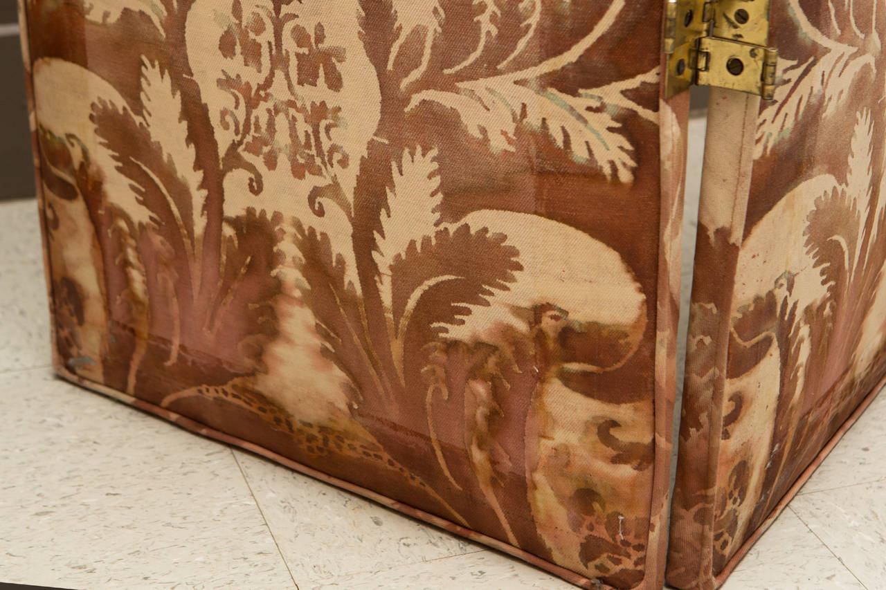 Pair of Modern Two-Panel Fortuny Style Screens 8