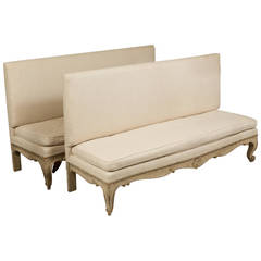 Pair of Louis XV Banquettes