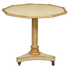 Neoclassical Style Parcel Gilt Center Table