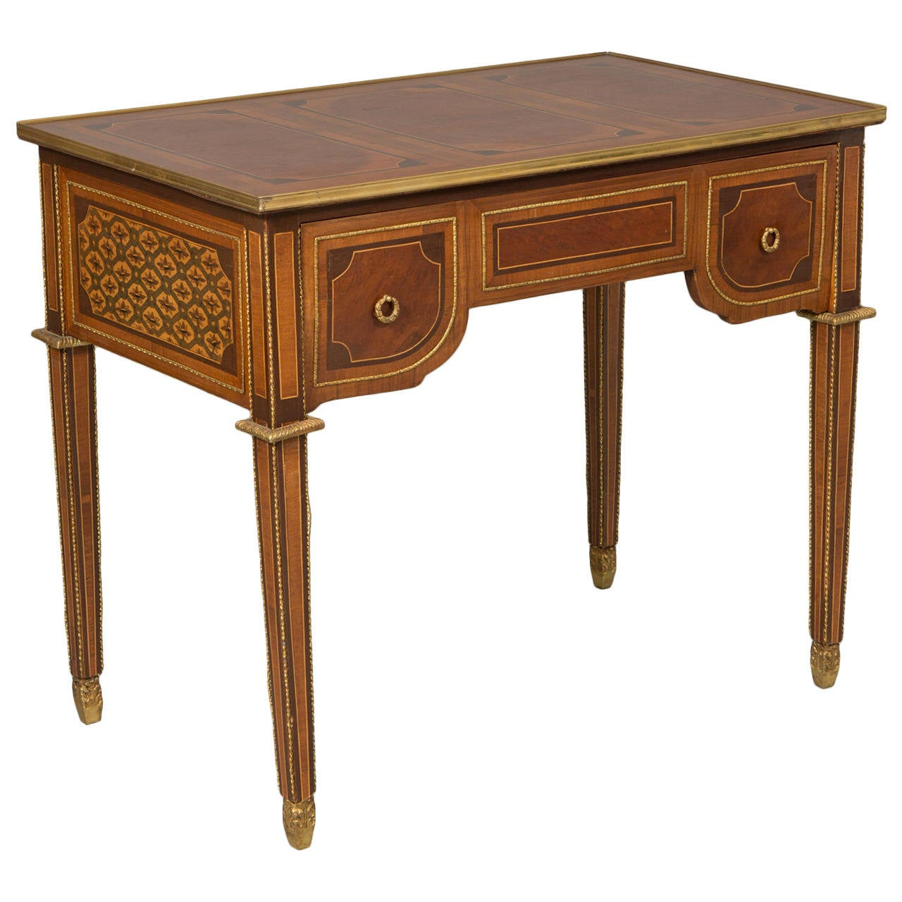Louis XVI Style Bureau Plat 1
