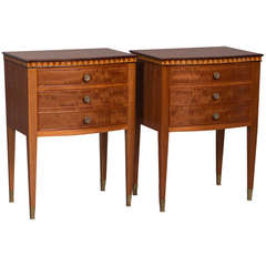 Pair of Mid-Century Italian Night Stands