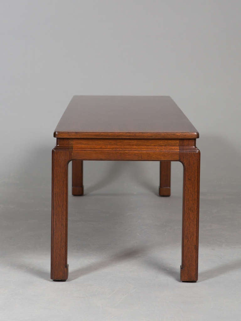 Mid Century Asian Look Dunbar Coffee Table For Sale At 1stdibs