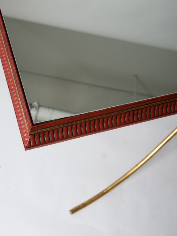 Mid-Century Gilt Iron Console For Sale 2