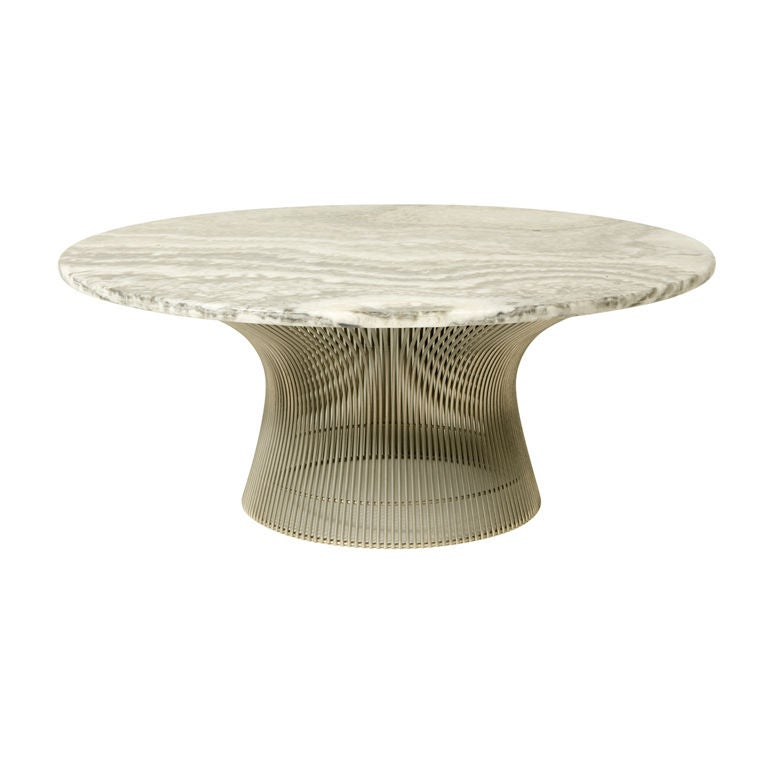 Warren platner coffee table at 1stdibs for Table warren platner