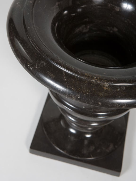 Black Marble Urn For Sale 1
