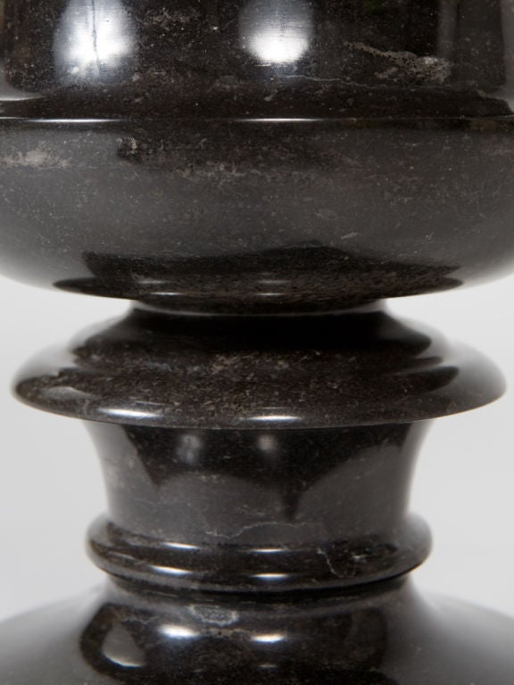Black Marble Urn For Sale 3