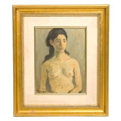 Raphael Soyer Oil Painting