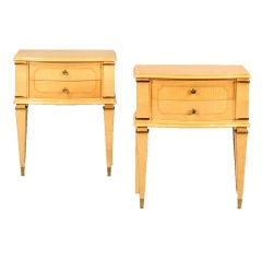 Pair of French End Tables