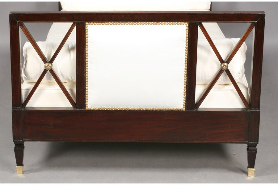 Wood Neoclassical Style Daybed For Sale