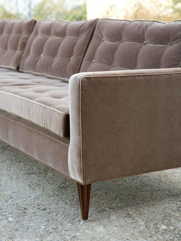 Wood Mid-Century Modern Sofa For Sale