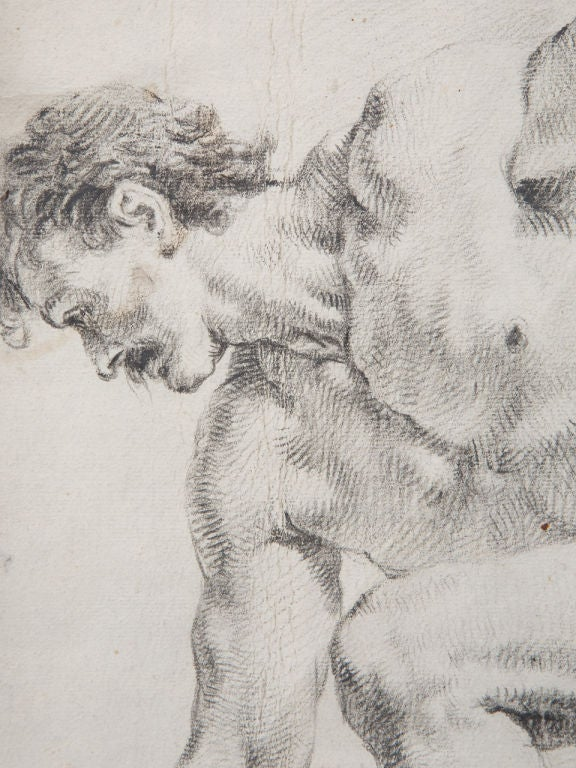 Pair of 19th Century Drawings For Sale 3