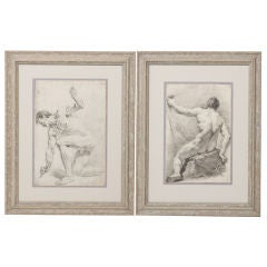 Pair of 19th Century Drawings