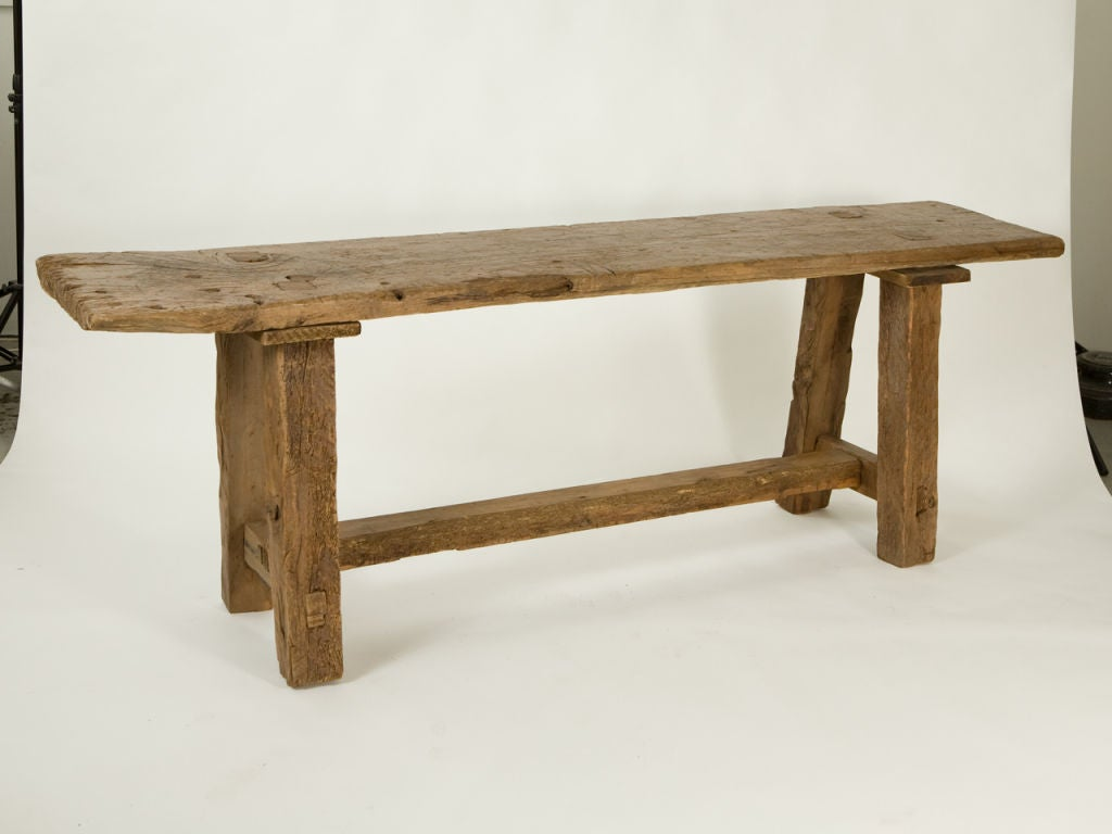 Antique Rustic Taverna Table At 1stdibs