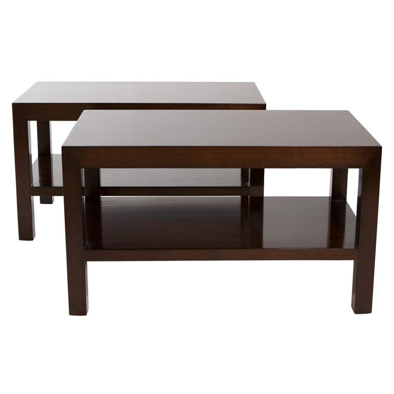 Pair Of Dunbar Coffee Tables At 1stdibs