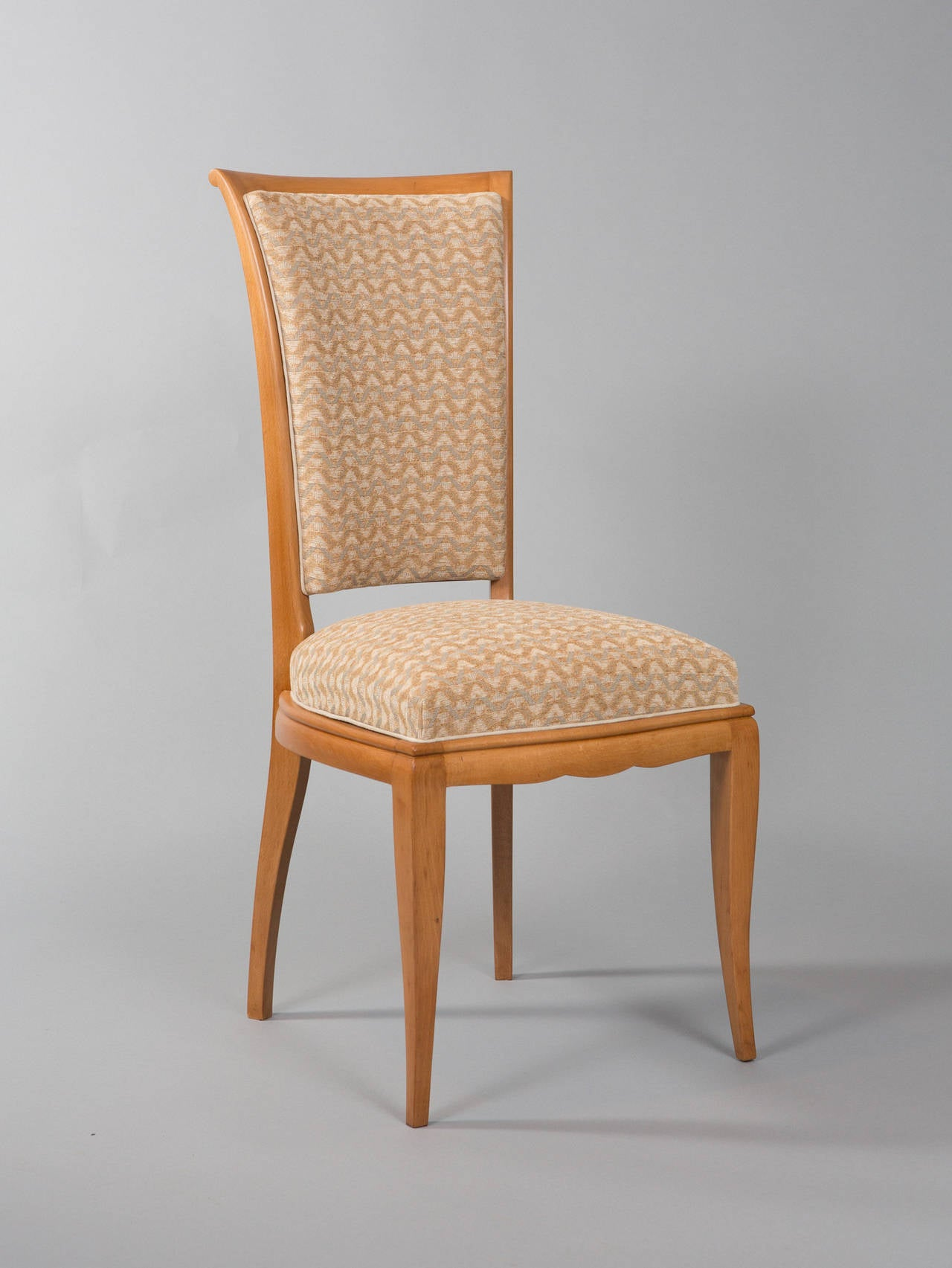 Art Deco Set of Six Deco Dining Chairs For Sale