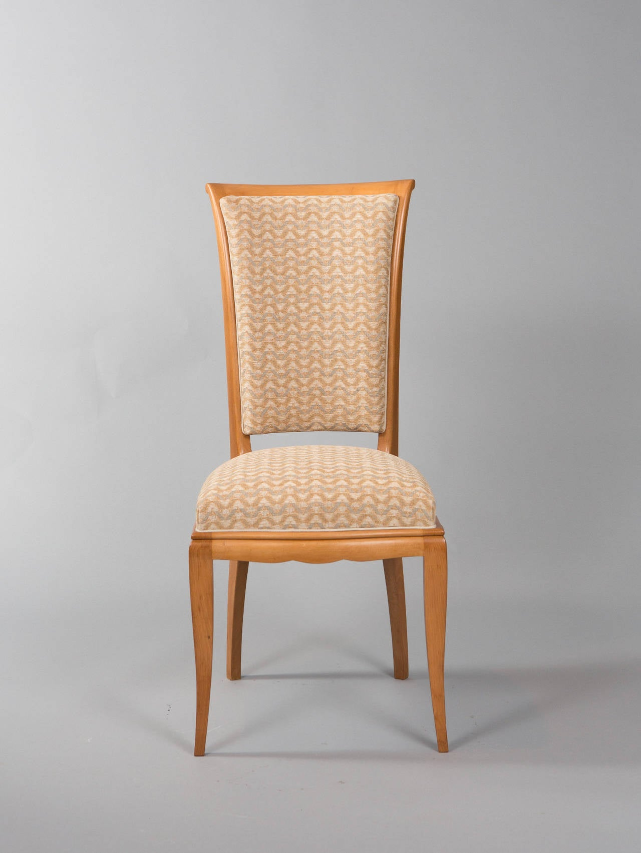 Set of Six Deco Dining Chairs In Good Condition For Sale In New York, NY