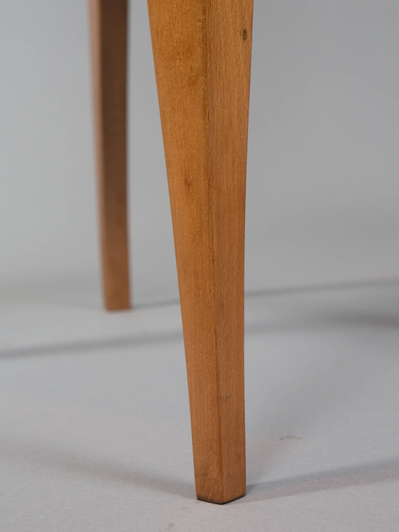 Set of Six Deco Dining Chairs For Sale 3