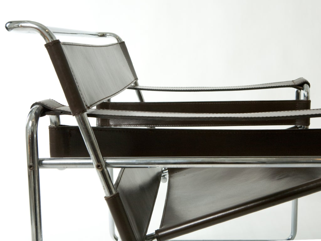 pair of wassily chairs by marcel breuer at 1stdibs. Black Bedroom Furniture Sets. Home Design Ideas