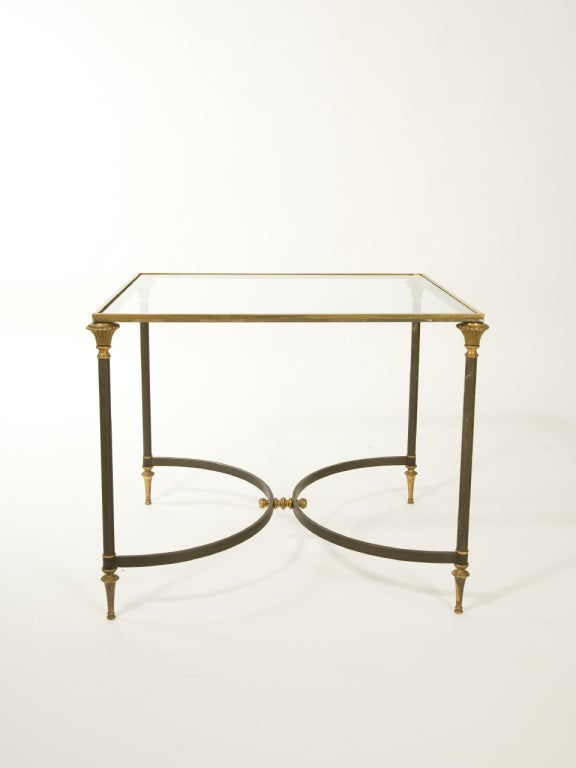 French Neoclassical Side Table Attributed to Ramsay For Sale