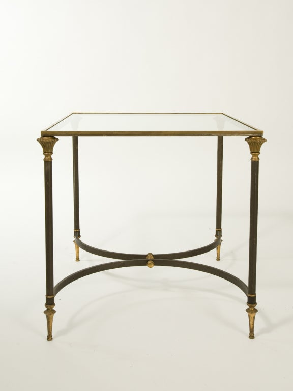 Mid-20th Century Neoclassical Side Table Attributed to Ramsay For Sale