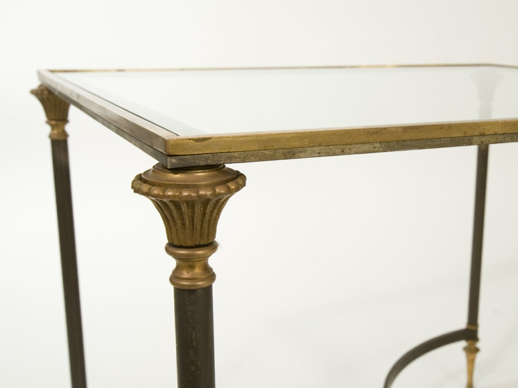 Neoclassical Side Table Attributed to Ramsay For Sale 2
