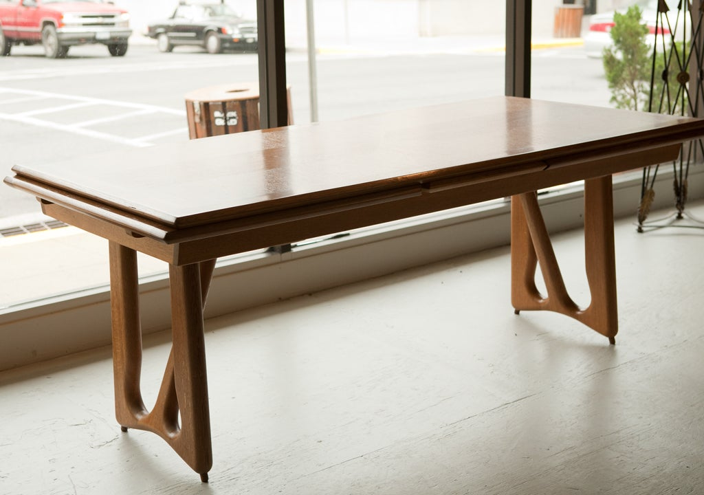 French Oak Dining Table At 1stdibs