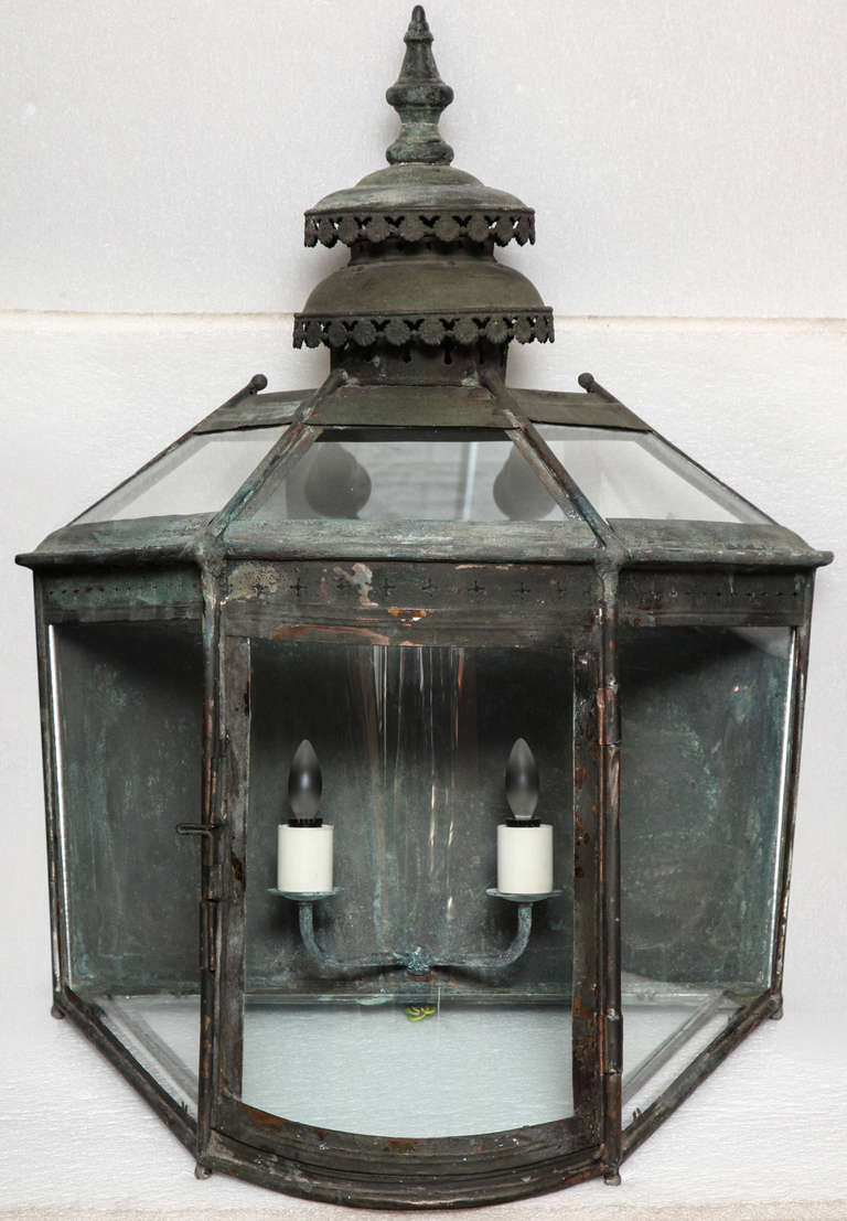 British 19th Century Copper Lanterns For Sale