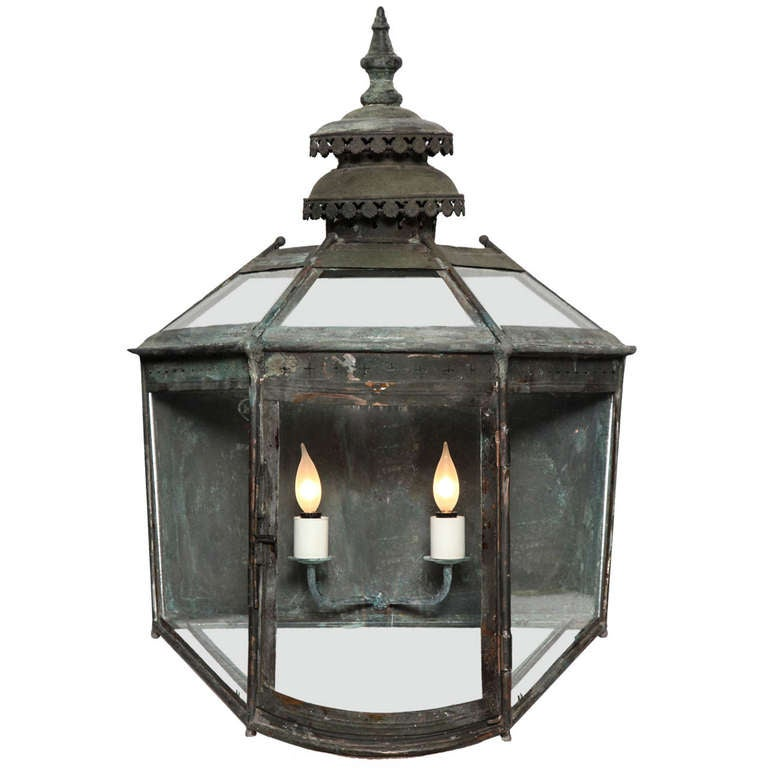 19th Century Copper Lanterns