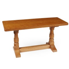 "Robert ""Mouseman"" Thompson Oak Low Table"